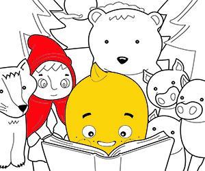 desenhos de Contos infantis para colorir e imprimir