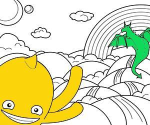 desenhos de Fantasia para colorir e imprimir
