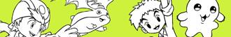 desenhos de Digimon para colorir