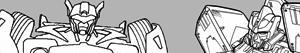 desenhos de Transformers para colorir