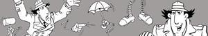 desenhos de Inspetor Bugiganga - Inspector Gadget para colorir
