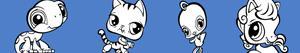 desenhos de Littlest PetShop para colorir