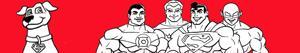 desenhos de Super amigos para colorir