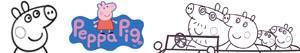 desenhos de Peppa Pig - A Porquinha Peppa para colorir
