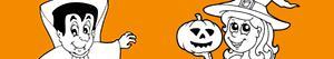 desenhos de Festa de Halloween para colorir