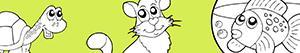 desenhos de Animais de estimação para colorir