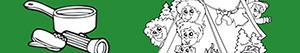 desenhos de Campismo selvagem para colorir