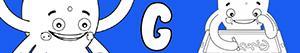 desenhos de Nomes de Menino com G para colorir