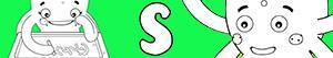 desenhos de Nomes de Menina com S para colorir
