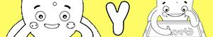 desenhos de Nomes de Menino com Y para colorir